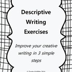 Descriptive Writing: Lesson Plan w/ Worksheets