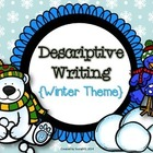 Descriptive Writing Winter Activity