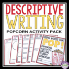 Descriptive Writing - Words That Pop! {Common Core}