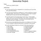 Design a Home Geometry Project
