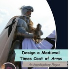 Design a Medieval Times Coat of Arms Project