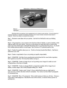 Design a Vehicle Project