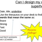 Design your own superhero powerpoint