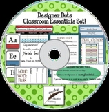 Designer Dots Classroom Essentials Set on CD