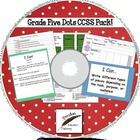 Designer Dots Grade Five Common Core Lesson Pack on CD
