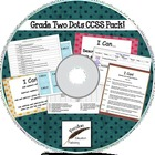 Designer Dots Grade Two Common Core Lesson Pack on CD