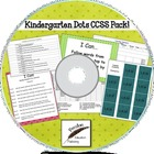Designer Dots Kindergarten Common Core Lesson Pack on CD