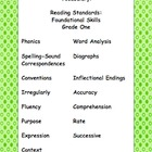Designer Dots Theme Grade One CCSS Complete Vocabulary Program