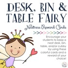 Desk Fairy, Bin Fairy &amp; Cubby Fairy Rewards