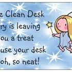 Desk Fairy-Clean Desk Award