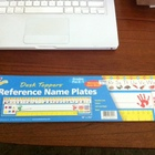 Desk Toppers - Name Plates