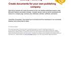 Desktop Publishing: Create Documents for Your Own Business