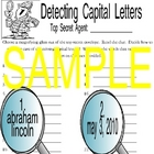 Detecting Capital Letters Capitalization Center