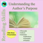Detecting the Author's Purpose-- A Piece of the PIE