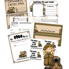 Detective Classroom Theme