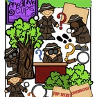 Detective Kids {Creative Clips Digital Clipart}