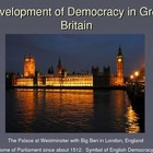 Development of Democracy in England