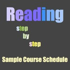 Developmental Reading Course Schedule (Readings & Assignments)