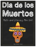 Dia De Los Muertos ~Day of the Dead~ Math and Literacy Min