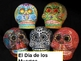 Dia de los Muertos Day of the Dead Powerpoint in English ppt