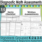 Diagnostic Math Assessments