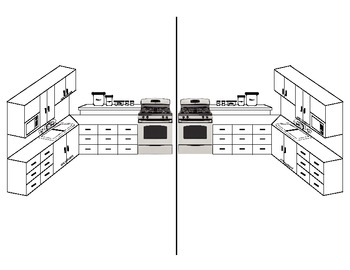 Diagram of Kitchen Units