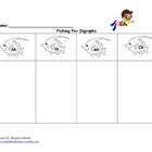 Diagraph worksheet