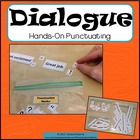 Dialogue Punctuating: a hands on activity with notes/poster