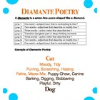 Diamante Poetry - Writing Poetry