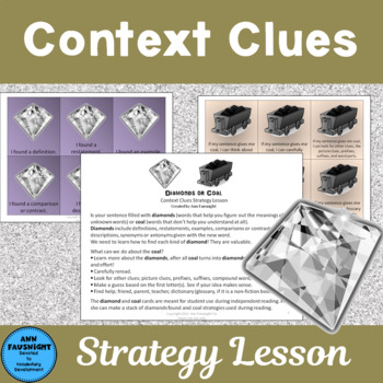 Diamonds or Coal A Context Clues Lesson