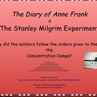 Diary of Anne Frank - Why follow the Nazis?