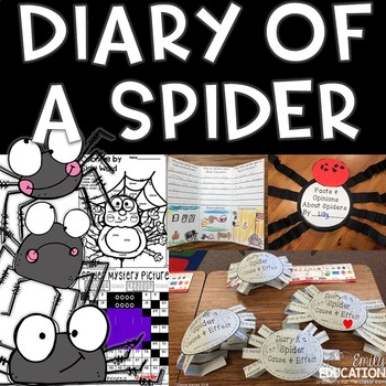 Diary of a Spider Supplement Materials Aligned with Journeys 2nd grade