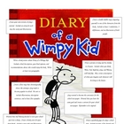 Diary of a Wimpy Kid Menu Options