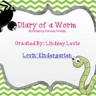 Diary of a Worm - Literacy Mini Unit
