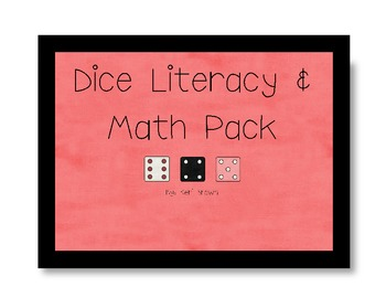Dice Literacy & Math Pack