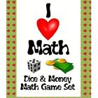Dice & Money Math Games