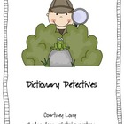 Dictionary Detectives Unit