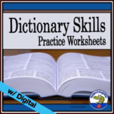 Dictionary Guide Words Practice Worksheet