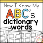 Dictionary Literacy Center FREEBIE
