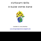 Dictionary Skills - A Guide Words Game