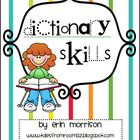 Dictionary Skills Activities