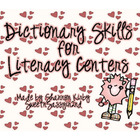 Dictionary Skills Center Activity