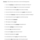 Dictionary Skills Worksheet - Understanding Vocabulary