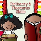 Dictionary &amp; Thesaurus Skills Worksheets