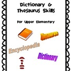 Dictionary & Thesaurus Skills
