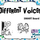 Different Voices SMART Board Lesson