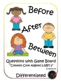 Differentiated Before After & Between Game