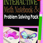 Interactive Math Notebook and Problem Solving Pack CCSS 1s