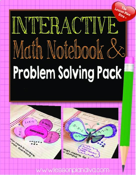 Interactive Math Notebook and Problem Solving Pack CCSS 1st and 2nd