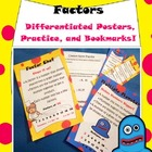 Differentiated Factors and Multiples Resources: posters, b